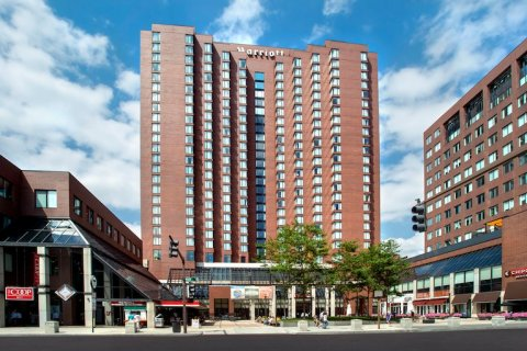 Photograph of the Boston Marriott in Kendall Square (Cambridge)